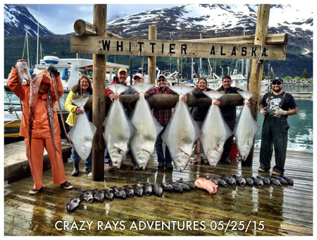 Halibut Fishing Alaska in Whittier, AK