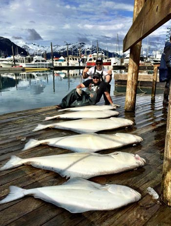 Halibut Fishing Charters in Alaska with Crazy Rays Adventures