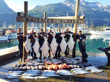 Alaska Halibut Fishing Charters with Crazy Rays Adventures