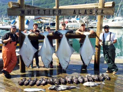 Alaska halibut Fishing Trips with Crazy Rays Adventures