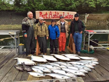 Alaska Halibut Fishing and Lodging Packages at Port Ashton Lodge